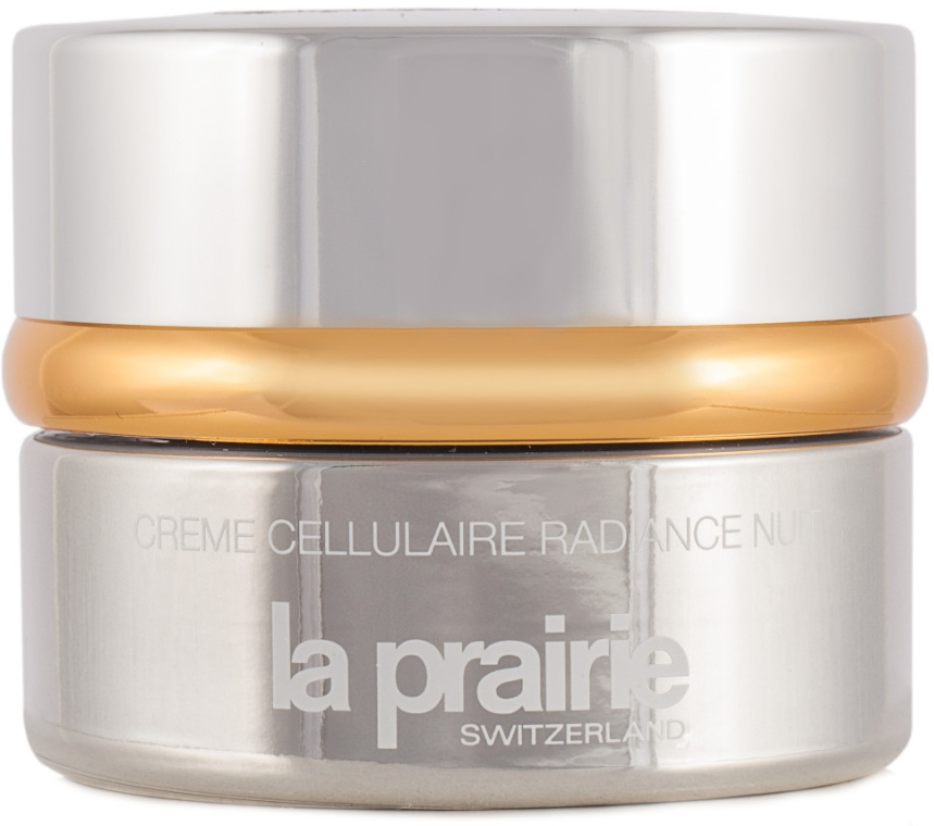 Rozświetlający krem do twarzy na noc - La Prairie Radiance Cellular Night Cream — фото N1