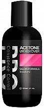 Kup Zmywacz z acetonem do usuwania manicure hybrydowego - Constance Carroll Aceton UV Remover Strawberry
