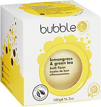 Kup PRZECENA! Kula do kąpieli Zielona herbata i trawa cytrynowa - Bubble T Bath Fizzer Lemongrass Green Tea *