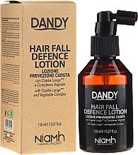 Kup PRZECENA! Ochronny lotion przeciw wypadaniu włosów dla mężczyzn - Niamh Hairconcept Dandy Hair Fall Defence Lotion *