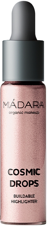 Rozświetlacz w płynie - Madara Cosmetics Cosmic Drops Buildable Highlighter — фото N2