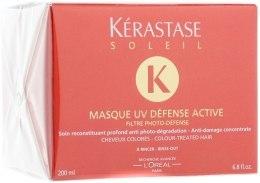 Kup Ochronna maska do włosów zniszczonych i farbowanych - Kérastase Soleil UV Protectice Coloured Hair Mask