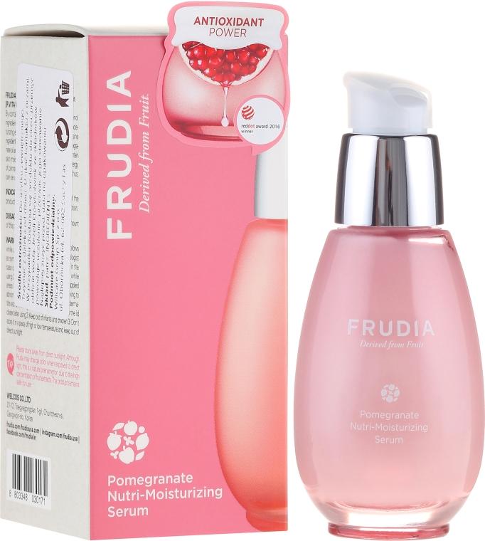 Odżywczo-nawilżające serum do twarzy - Frudia Nutri-Moisturizing Pomegranate Serum — фото N1