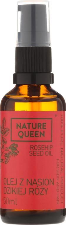 Olej z nasion dzikiej róży - Nature Queen Rosehip Seed Oil — фото N3