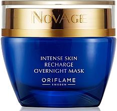 Kup PRZECENA! Maska na noc intensywnie regenerująca skórę - Oriflame NovAge Intense Skin Recharge Overnight Mask*