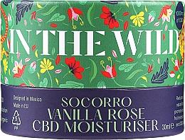 Kup Nawilżający krem przeciwtrądzikowy do twarzy Róża i CBD - In The Wild Socorro Vanilla Rose CBD Moisturiser