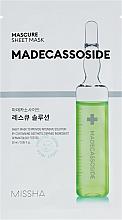Kup Maseczka do twarzy z madekasozydem - Missha Mascure Rescue Solution Sheet Mask Madecassoside