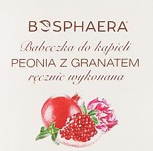 Kup Babeczka do kąpieli Piwonia i granat - Bosphaera