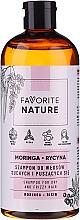 Kup Szampon do włosów suchych i kręconych - Favorite Nature Shampoo For Dry And Frizzy Hair Moringa & Ricin