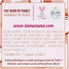 Szampon w kostce do włosów suchych Wanilia i kokos - Lamazuna Solid Shampoo For Dry Hair Vanilla & Coconut Scent — фото N3