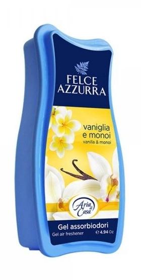 Odświeżacz powietrza w żelu - Felce Azzurra Gel Air Freshener Vanilla & Monoi — фото N1