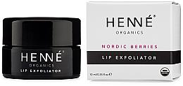 Kup PRZECENA! Peeling do ust - Henne Organics Nordic Berries Lip Exfoliator *