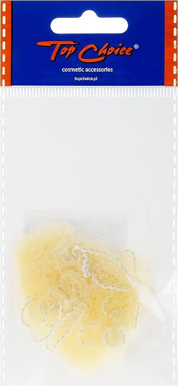 Siateczka do włosów, 3097, jasnobeżowa - Top Choice — фото N1