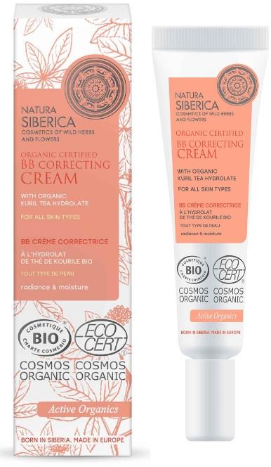 Korygujący krem BB do wszystkich typów skóry - Natura Siberica BB Correcting Cream With Organic Kuril Tea Hydrolate
