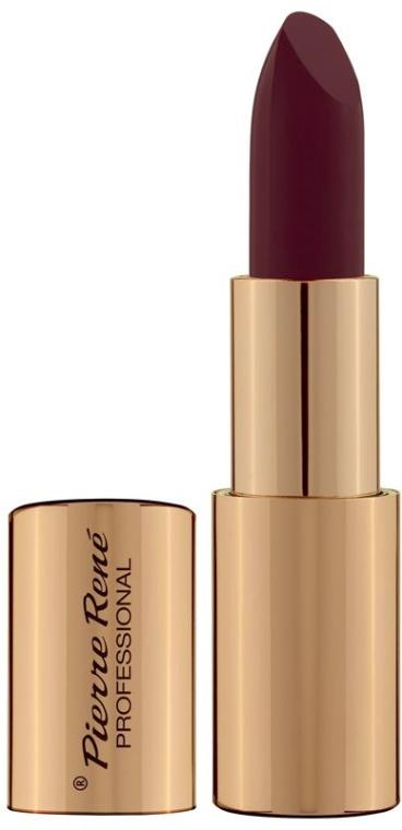 Matowo-satynowa szminka do ust - Pierre René Royal Mat Lipstick