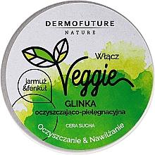 Kup Oczyszczająca glinka nawilżająca do cery suchej Jarmuż i fenkuł - DermoFuture Veggie