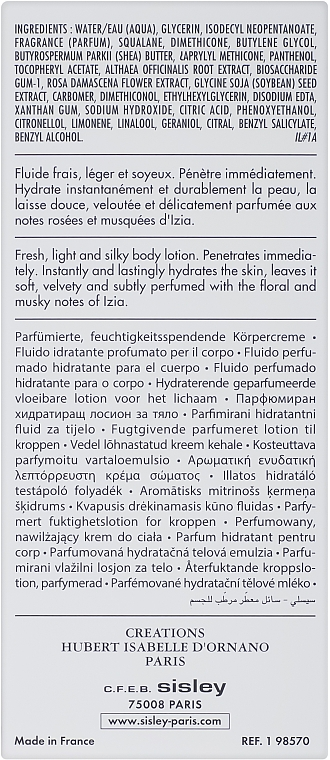 Sisley Izia - Perfumowany balsam do ciała — фото N3