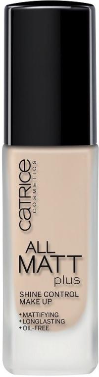 Podkład matujący - Catrice All Matt Plus Shine Control Make Up