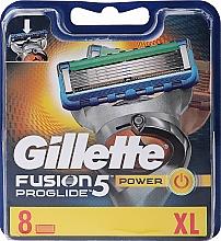 Kup Wymienne wkłady do maszynki, 8 szt. - Gillette Fusion ProGlide Power