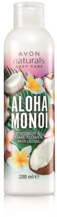 Balsam do ciała Kokos i gardenia tahitańska - Avon Naturals Aloha Monoi Body Lotion — фото N1