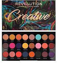 Kup Paleta cieni do powiek - Makeup Revolution Creative Vol 1 Eyeshadow Palette