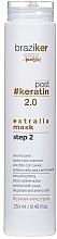 Kup Wygładzająca maska do włosów po keratynowym prostowaniu - Braziker Hair Mask After Keratin Straightening