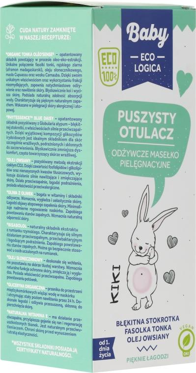 Odżywcze masełko pielęgnacyjne dla dzieci od 1. dnia życia Puszysty otulacz - Baby EcoLogica Nourishing Care Butter