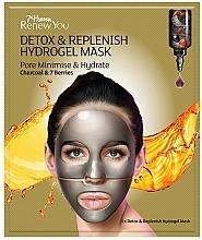 Kup Hydrożelowa maseczka w płachcie do twarzy - 7th Heaven Renew You Detox Replenish Hydrogel Mask