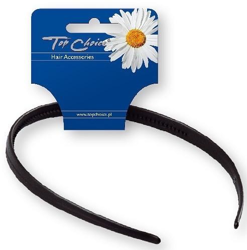 Opaska do włosów 27697, czarna - Top Choice Hair Headband — фото N1