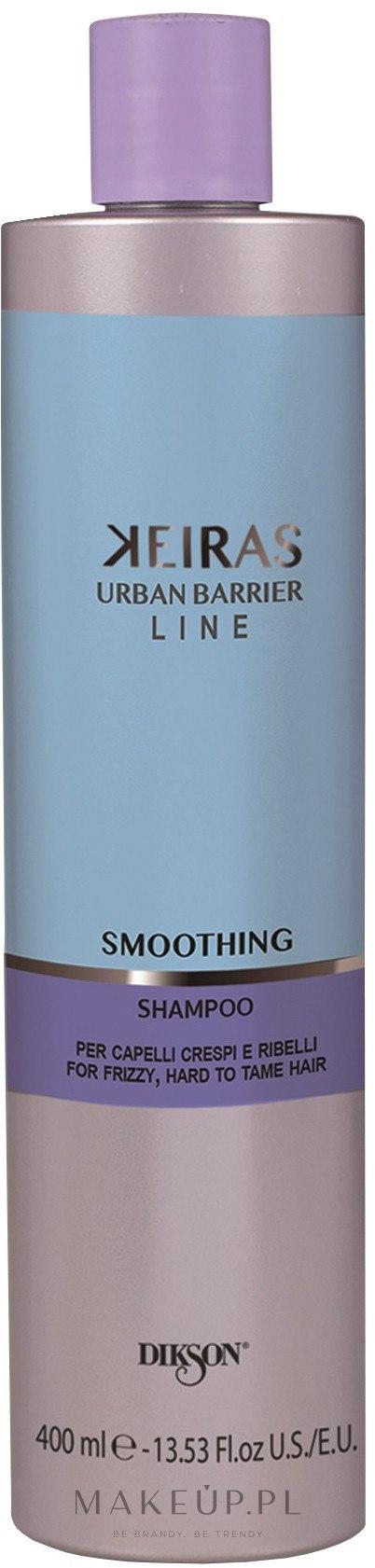 Wygładzający szampon do włosów nieposłusznych - Dikson Kerais Smoothing Shampoo — фото 400 ml