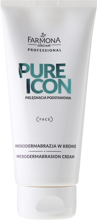 Mikrodermabrazja w kremie - Farmona Professional Pure Icon Microdermabrasion Cream