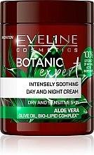 Kup Intensywnie łagodzący krem do twarzy na dzień i na noc Aloes - Eveline Cosmetics Botanic Expert