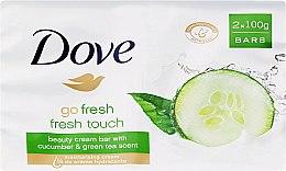 Kup Kremowe mydło do ciała - Dove Go Fresh Fresh Touch Cream Bar With Cucumber & Green Tea Scent