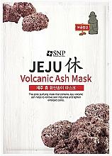 Kup Oczyszczająca maseczka w płachcie do twarzy z popiołem wulkanicznym - SNP Jeju Rest Volcanic Ash Mask