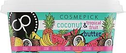 Masło do ciała Kokos i owoce tropikalne - Cosmepick Body Butter Coconut & Tropical Fruits — фото N2