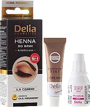 Kup PRZECENA! Henna do brwi w kremie - Delia Cosmetics Eyebrow Expert *