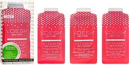 Kup Zestaw do pedicure Różowy grapefruit - Voesh Pedi In A Box 3 In 1 Deluxe Pedicure Vitamin Recharge Pink Grapefruit