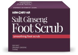 Kup Zmiękczający peeling do stóp z solą morską i ekstraktem z żeń-szenia - Natura Siberica Fresh Spa Kam-Chat-Ka Salt Ginseng Foot Scrub