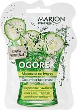 Kup Maseczka do twarzy Ogórek - Marion Fit & Fresh Cocumber Face Mask