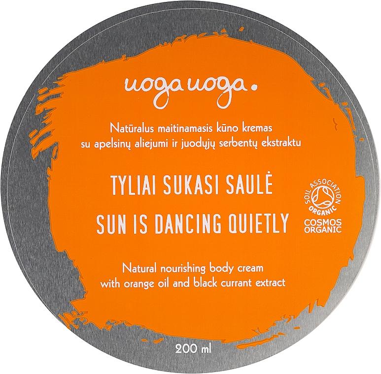 Nawilżający krem do ciała z olejkiem pomarańczowym i ekstraktem z czarnej porzeczki - Uoga Uoga Moisturising Body Cream — фото N1