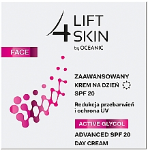 Kup Zaawansowany krem na dzień SPF 20 - Lift4Skin Active Glycol Advanced Day Cream