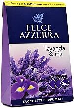 Kup PRZECENA! Saszetka aromatyczna, lawenda i irys - Felce Azzurra Sachets Lavender and Iris *