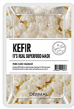 Kup Maseczka do twarzy z kefirem - Dermal It'S Real Superfood Mask Kefir