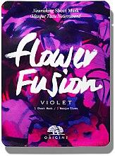 Kup Odżywcza maska w płachcie do twarzy z fiołkiem - Origins Flower Fusion Violet Nourishing Sheet Mask