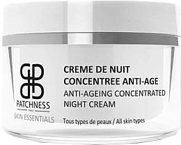 Kup Skoncentrowany krem do twarzy na noc - Patchness Skin Essentials Anti-Ageing Concentrated Night Cream