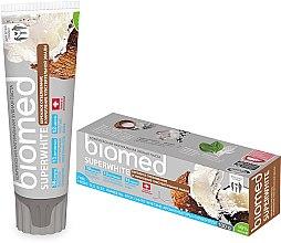 Kup PRZECENA! Wzmacniająca wybielająca pasta do zębów - Biomed Superwhite *