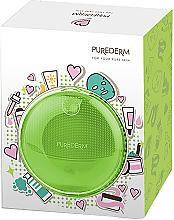 Kup Szczoteczka do mycia twarzy, zielona - Purederm Sonic Face Brush Green