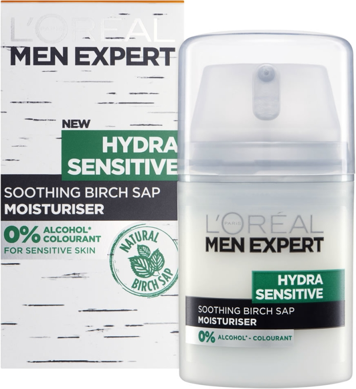 Krem nawilżająco-kojący dla cery wrażliwej - L'Oreal Paris Men Expert Hydra Sensitive