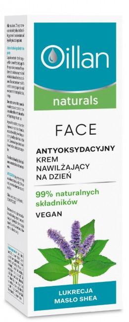 Nawilżający krem do twarzy - Oillan Naturals — фото N1