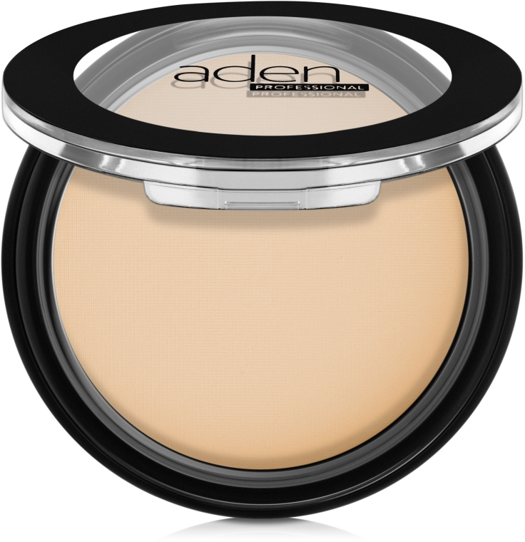 Matujący puder w kompakcie - Aden Cosmetics Silky Matt Compact Powder — фото N1